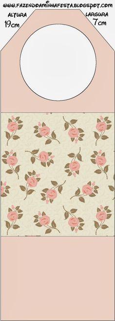 Rosas delicados: Partido Libre para imprimir papelería.