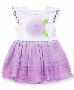 Sweet Heart Rose Baby Girls' Tulle Dress