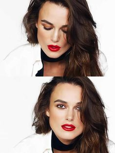 Keira Knightley wears Chanel Rouge Coco in Gabrielle