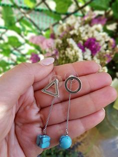 Check out this item in my Etsy shop https://www.etsy.com/uk/listing/594002582/circle-earrings-triangle-earrings-boho