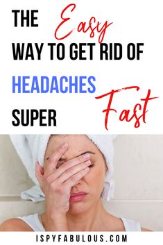 After years of headaches, I have figured out the holy grail of fast headache relief - without medication. These easy, affordable headache remedies will get rid of your headache fast. Home Remedy For Headache, Bad Headache, Natural Remedies For Migraines, Migraine Relief, Home Remedy For Migraines, Migraine Remedy, Migraine Diet, Stress Relief, Shopping