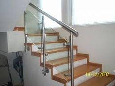 Image result for barandales de cristal para escaleras