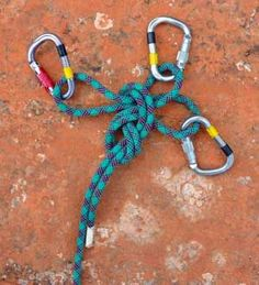 Learn how to tie and use an equalizing figure-8 knot, an essential climbing safety knot. The equalizing figure-8 knot is a great way to tie yourself and your climbing rope into anchors since the knot is able to equalize up to three different anchors with the rope.