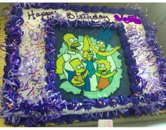 This was my birthday cake from Stater bros it was so good