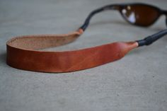 Horween Leather Sunglasses Strap on Etsy, $17.00