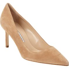 Possibly the shoe worn by Kate when switching planes in Sydney, the Manolo Blahnik Suede bb in beige, thx to My Small Obsessions on Facebook for the suggestion.