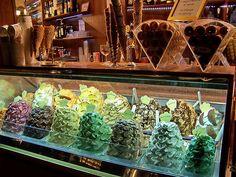 IT10AQR Gelateria Gelato Cones, Florence Italy 2010 by CanadaGood, via Flickr