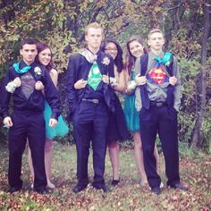 Superhero themed wedding. Brilliant!