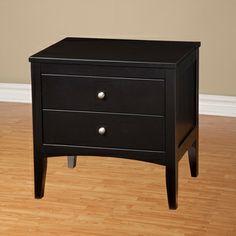 Alpine Furniture Vista Nightstand - Home Furniture Showroom