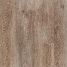 for basement reno. NuCore Driftwood Oak Plank with Cork Back (LVP) Luxury Vinyl Flooring, Best Flooring, Luxury Vinyl Tile, Vinyl Plank Flooring, Luxury Vinyl Plank, Flooring Options, Hardwood Floors, Flooring Ideas, Wood Flooring