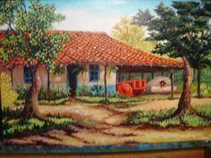 Pinturas Bob Ross, Photoshop Course, South American Art, Bob Ross Paintings, Nature Beach, Cottage Art, Digimon Adventure, God Pictures, Tropical Art