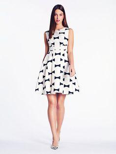 bow tie marilyn dress - kate spade new york