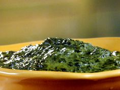 Creamed Spinach from FoodNetwork.com. This was yummy-I used it with mixed greens instead of just spinach.