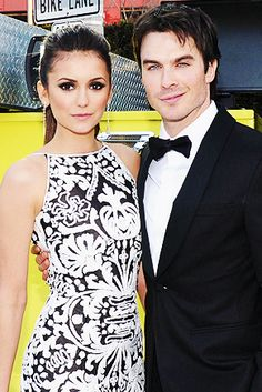 Cutest couple award: nina dobrev & Ian Somerhalder