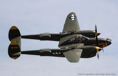 "P-38 ""Tangerine"" #plane #WW2"