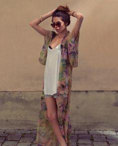 Maja Wyh. I'm in love with the kimono!