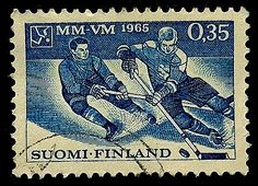 #Hockey #Finland #PassionGiftStampArt #Art
