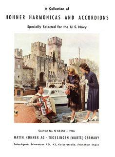 Hohner Harmonicas made for U.S. Navy, 1946