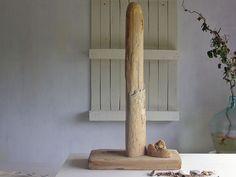 Deko-Objekte - Großes Treibholz auf Holzplatte, Deko-Objekt, öko - ein Designerstück von SchlueterKunstundDesign bei DaWanda