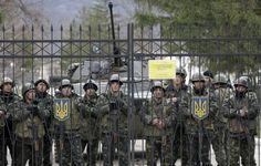 """Ucrania califica la presencia rusa en Crimea de """"declaración de guerra"""""""