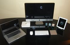 Mac Setups: iMac, MacBook Pro, iPhones, & iPad 2