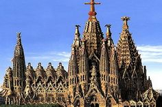 places to visit in barcelona | places to visit in spain la sagrada familia temple barcelona