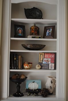 fall shelves