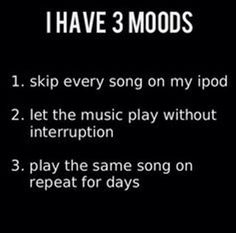The 3 Moods from We Heart It