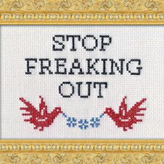 Cross-stitch is making a comeback. Check out the post and receive a FREEBIE PATTERN from Julie over at Subversive Cross-Stitch!!