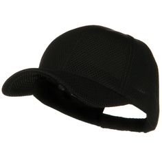 360 Degree Air Mesh Cap - Black
