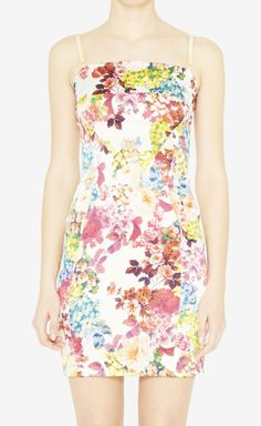 D&G White And Multicolor Dress