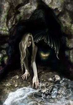 Art Print - From Darkness by Selina Fenech