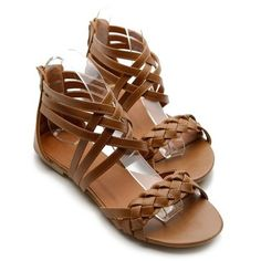 cute brown sandals
