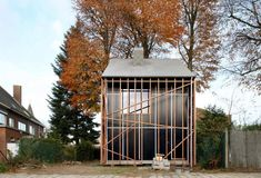 de vylder vinck taillieu - Google Search Farm Shed, Masonry Wall, Beech Tree, Passive House, Outdoor Spaces, Outdoor Decor, Home Additions, Bern, Old Houses