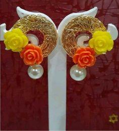 Beautiful Flower Earing #SoRRYFoRThiS