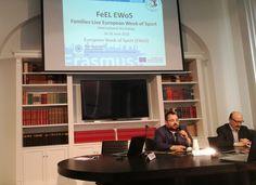 Il prof. Francesco Cappello presenta lo IEMEST ai partecipanti al progetto europeo FEeL EWoS