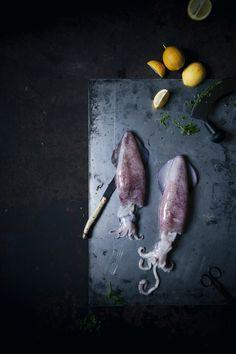 Venetian stuffed squids with green pesto…