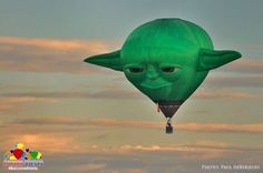 Judge Me By My Size, Do You?: A Yoda Hot Air Balloon - Neatorama