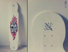 Skull – longboard design