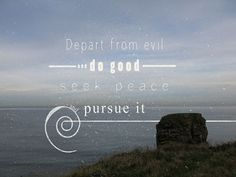 Image result for psalm 34:14
