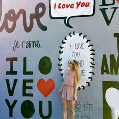 #ILoveYouWall by Shelbi Nicole in the Houston Heights