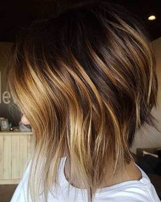 I10 Inverted Bob Cuts to Try Out: #5. Honey Blonde Highlights Inverted Bob