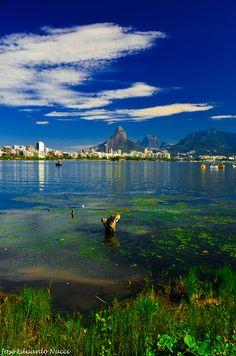 Lagoa Rodrigo de Freitas,Rio de Janeiro