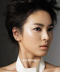 Song Hye-kyo -- the epitome of a perfect asian beauty Beauty Makeup, Hair Makeup, Hair Beauty, Bridal Makeup, Wedding Makeup, Bridal Hair, Korean Beauty, Asian Beauty, Light Contouring