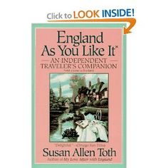 Susan Allen Toth's 3 books on England inspired many afternoon teas.