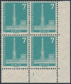 Berlin-135-w-v-7Pf-Berliner-Stadtbilder-I-Eckrand-4er-Block-unten-re-FN-1B