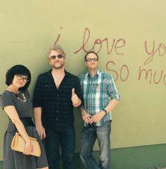 Lane, Zack & Brian at GG Reunion! #KeikoAgena #ToddLowe #JohnCabrera #ATX June 6, 2015