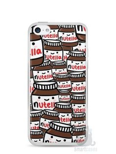 Capa Iphone 5C Nutella #1 - SmartCases - Acessórios para celulares e tablets :)