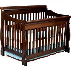 Delta Children's Products Canton 4 in 1 Convertible Crib in Espresso - 7888_205