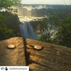Una perspectiva nueva en cada mirada. Fotografía por: @katiamcampos #cataratasarg #travel #beautiful #bestoftheday #iguazu #argentina #photoofday #turismo #trip #nature #milugar